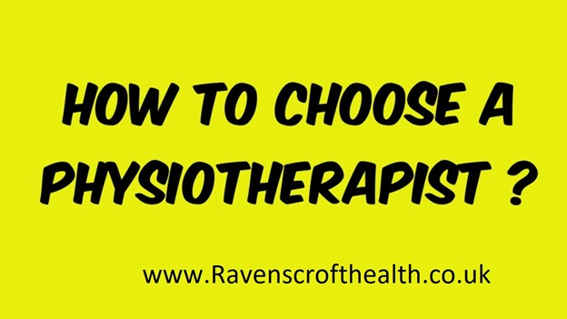 How to choose a physiotherapist? Important points to consider